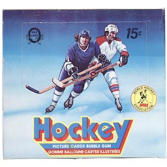 1977/78 O-Pee-Chee WHA Hockey Wax Box