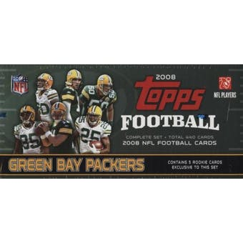 2008 Topps Football Factory Set (Box) (Green Bay Packers)