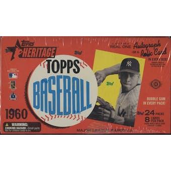 2009 Topps Heritage Baseball Hobby Box