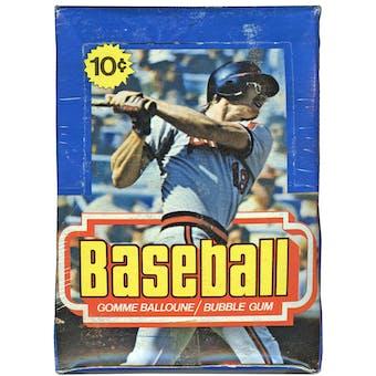 1977 O-Pee-Chee Baseball Wax Box
