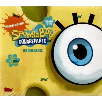 SpongeBob SquarePants Hobby Box (2009 Topps)
