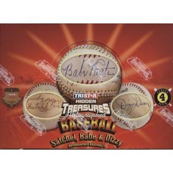2010 TriStar Hidden Treasures Autographed Baseballs Series 4 Hobby Box