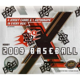 2009 Upper Deck SPx Baseball Hobby Box