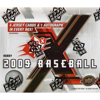 2009 Upper Deck SPx Baseball Hobby Box