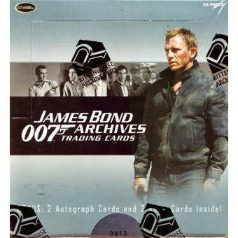 James Bond Archives Trading Cards Box (Rittenhouse 2009)