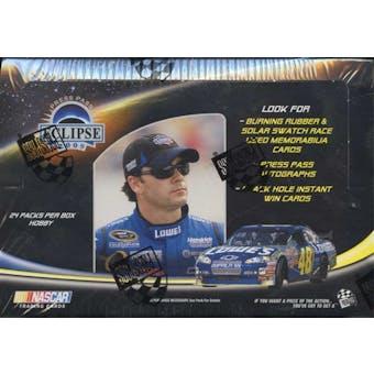2009 Press Pass Eclipse Racing Hobby Box