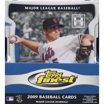 2009 Topps Finest Baseball Hobby Box