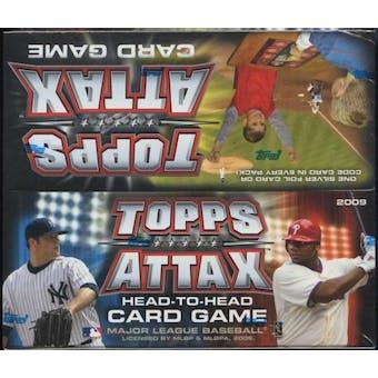 2009 Topps Attax Baseball Booster Box