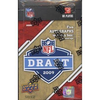 2009 Upper Deck Draft Edition Football Hobby Box