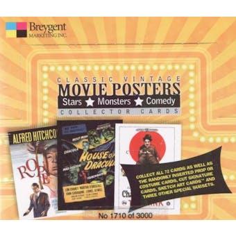 Classic Vintage Movie Posters Hobby Box (2009 Breygent)