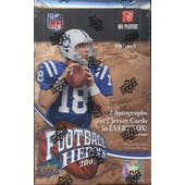 2009 Upper Deck Heroes Football Hobby Box