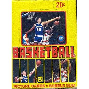 1979/80 Topps Basketball Wax Box