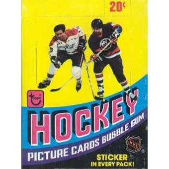 1978/79 Topps Hockey Wax Box