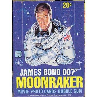 James Bond Moonraker Wax Box (1979 Topps)