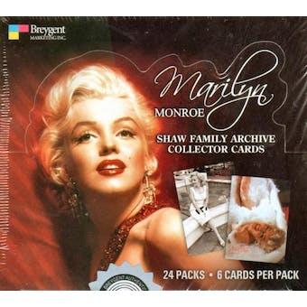 Marilyn Monroe Shaw Family Archives Hobby Box (2008 Breygent)