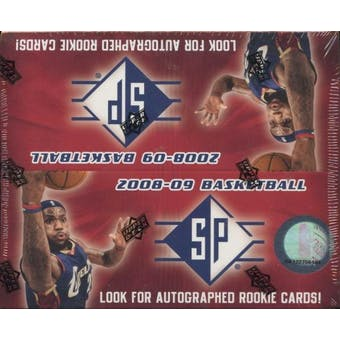 2008/09 Upper Deck SP Basketball Box