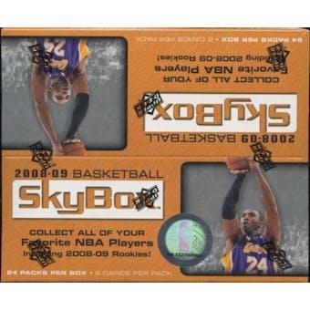 2008/09 Upper Deck Skybox Basketball 24-Pack Box