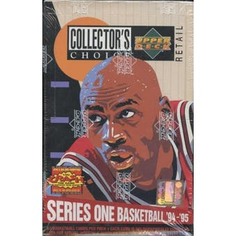 1994/95 Upper Deck Collector's Choice Series 1 Basketball 36-Pack Box (12 Cards per Pack)