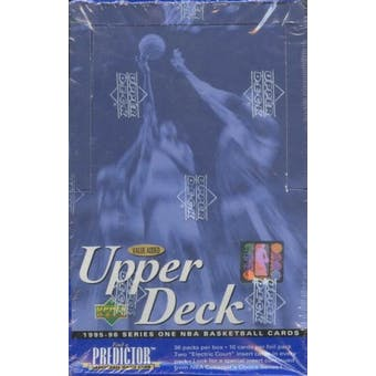1995/96 Upper Deck Series 1 Basketball Value Added Box