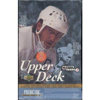 1995/96 Upper Deck Series 2 Hockey Value Added Box
