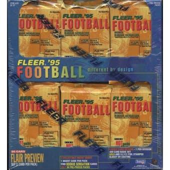 1995 Fleer Football Prepriced Box