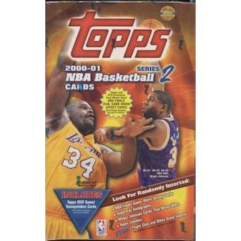 2000/01 Topps Series 2 Basketball Jumbo Box