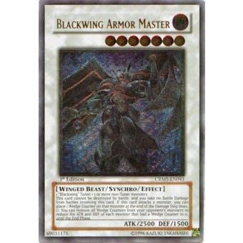 Yu-Gi-Oh Crimson Crisis Single Blackwing Armor Master Ultimate Rare - NEAR MINT (NM)