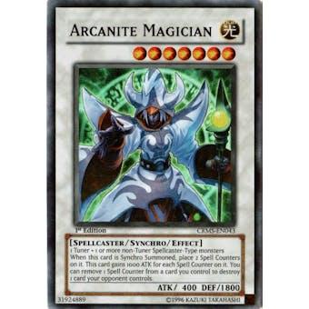 Yu-Gi-Oh Crimson Crisis Single Arcanite Magician Super Rare