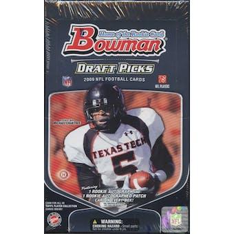 2009 Bowman Draft Picks Football Hobby Box