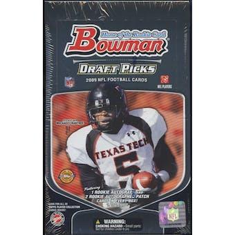 2009 Bowman Draft Picks Football Jumbo Box