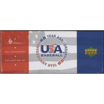 2004 Upper Deck USA Baseball 25th Anniversary Factory Set (Box)