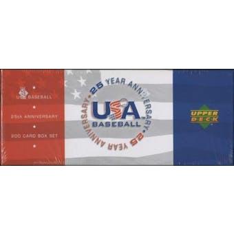 2004 Upper Deck USA Baseball 25th Anniversary Factory Set (Box)