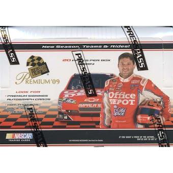 2009 Press Pass Premium Racing Hobby Box