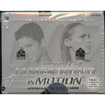Women of James Bond in Motion Trading Cards Box (Rittenhouse 2003)