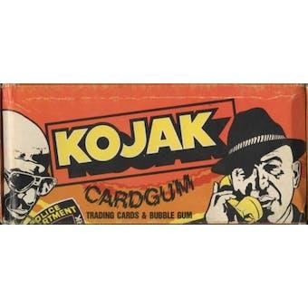 Kojak Wax Box (c.1970s Holland)