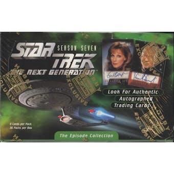 Star Trek: The Next Generation Season 7 Hobby Box (1999 Skybox)