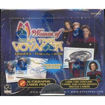 Star Trek Women of Voyager Trading Cards Box (Rittenhouse 2001)