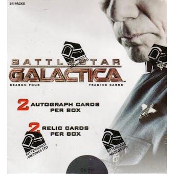 Battlestar Galactica Season 4 Trading Cards Box (Rittenhouse 2009)