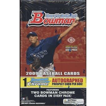 2009 Bowman Baseball Hobby Box