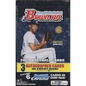 2009 Bowman Baseball Jumbo Box