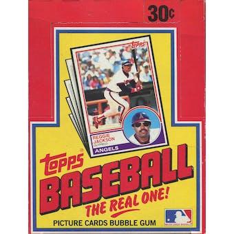 1983 Topps Baseball Wax Box