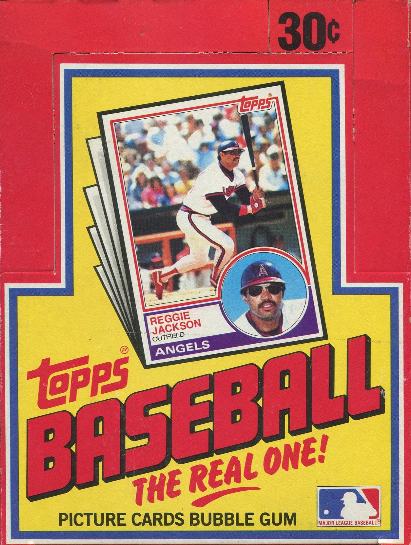 1983 Topps Baseball Wax Box Da Card World