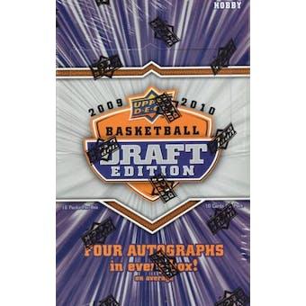 2009/10 Upper Deck Draft Edition Basketball Hobby Box