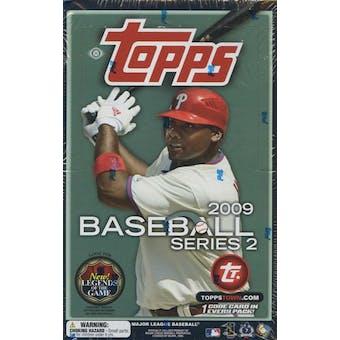 2009 Topps Series 2 Baseball Hobby Box
