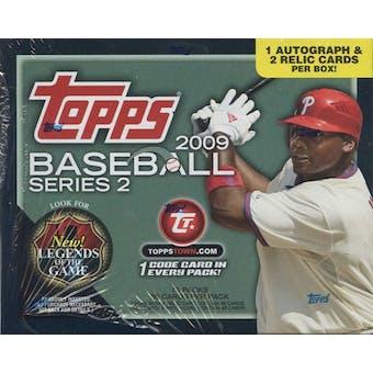 2009 Topps Series 2 Baseball Jumbo Box