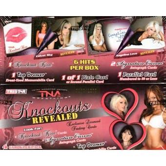 2009 Tristar TNA Knockouts Revealed Wrestling Hobby Box