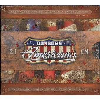 2009 Donruss Americana Hobby Box
