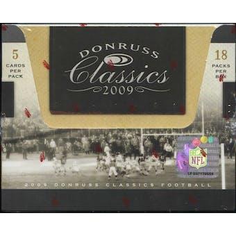 2009 Donruss Classics Football Hobby Box