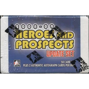 2008/09 In The Game Heroes & Prospects Update Hockey Hobby Set