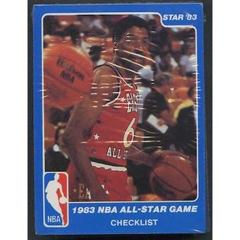 1983 Star Co. Basketball All-Star Game Bagged Set